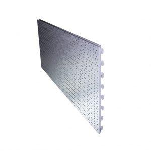 TYŁ PERF. (EURO) DO PROF. 80,110X30 Z PERF. 50 H-400 L-600 – Szary mat
